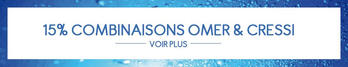 Promotions de noël combinaisons Cressi et Omer